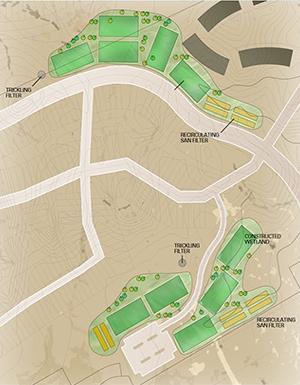Wastewater infrastructure planning