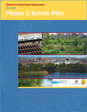 With this plan Baltimore City and County strengthened their commitment to regional water quality