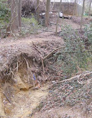 Initial conditions with severe erosion