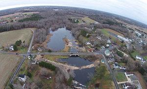 Bishopville Pond, after restoration