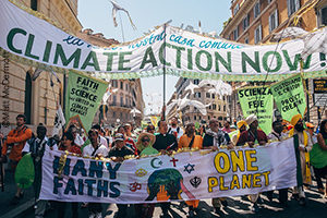 Religious environmental activists at the Vatican