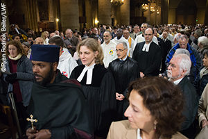 Ecumenical celebration for creation, Cathredral of Notre Dame