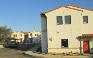 Affordable housing under construction at Cedar Springs