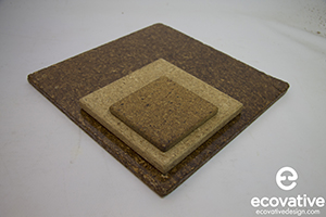 Ecovative's MycoBoard is used for furniture, architecrual panels, door cores, and cabinetry