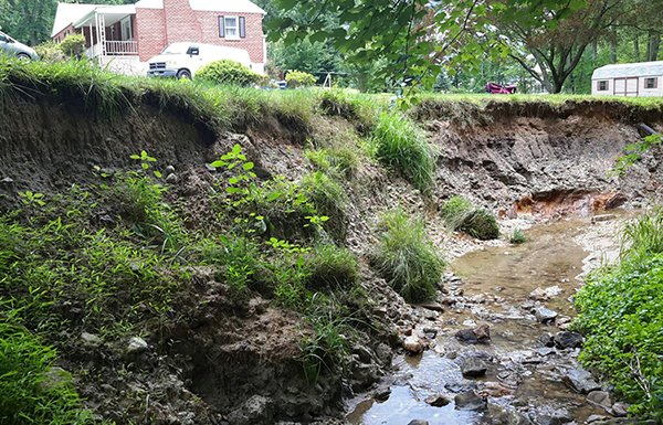 Severely eroded initial conditions