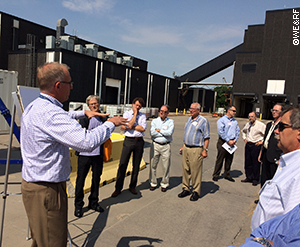 Participants at a recent Test Bed Network workshop co-sponsored by WE&RF, DOE, NSF, and EPA