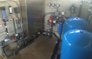Screening, biofiltration, tertiary filtration, & UV disinfection readies water for reuse at Cedar Springs