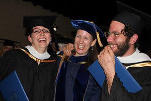 Dr. Allison and graduates, ©CIIS