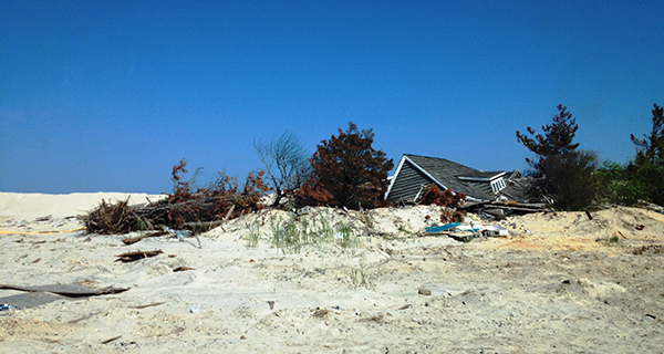 New Jersey's Mantolonking Beach, post-Sandy