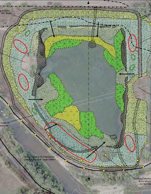 Plan for diverse assemblage of five vegetation zones