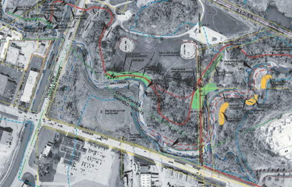 Trail and restoration plan