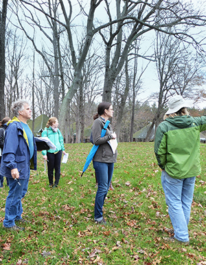 Field assessment included a site tour with staff to understand current management protocols