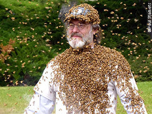 Paul, with bees