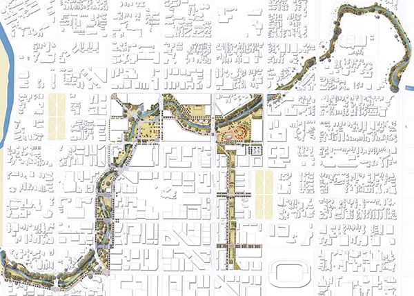 Avon River Precinct Plan ©Christchurch Central Development Unit