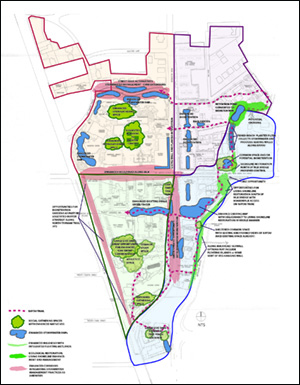 Proposed plan of ecological and stormwater recommendations