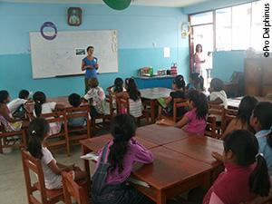 Pro Delphinus outreach in a local school