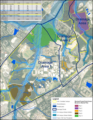 Map of proposed natural areas