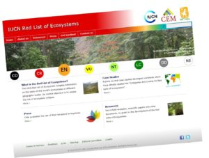 RedListofEcosystemsScreenShot