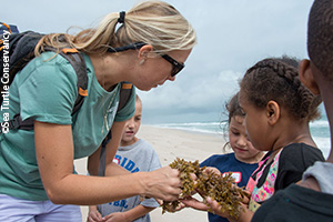 STC outreach at the Barrier Island Center