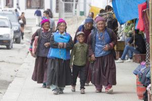 Tibetans in Ladakh, North India