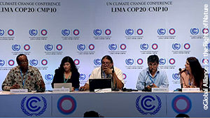 UNFCCC Press Conference about Rights of Nature Tribunal