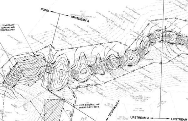 Detail of restoration plan