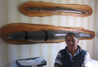 Maori eel expert Bill Kerrison ©James Prosek