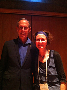 Susie Burke & former Senator Bob Brown, who was the founder and leader of the Australian Greens