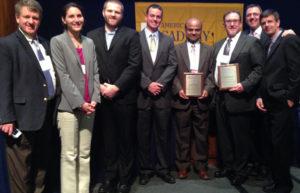 The project team: Delaware DNREC, UMBC, Biohabitats, and Brightfields